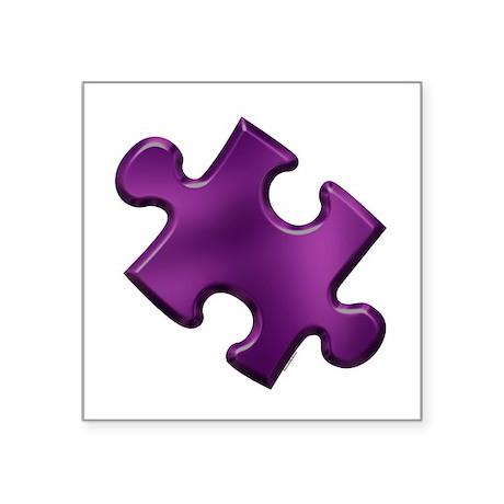 Puzzle Piece Ala Carte 1.6 (Purple) Sticker