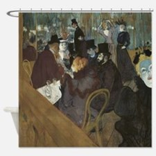 Lautrec at Moulin Rouge Shower Curtain