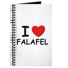 I love falafel Journal