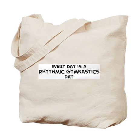 Rhythmic Gymnastics day Tote Bag