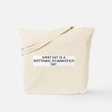 Rhythmic Gymnastics day Tote Bag