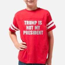 Funny Obama is not my president Youth Football Shirt