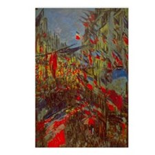 Claude Monet,Rue Montorgu Postcards (Package of 8)