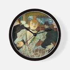 La Goulue Wall Clock