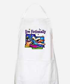 Live Fictionally BBQ Apron