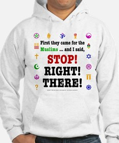 First They Came... Jumper Hoody