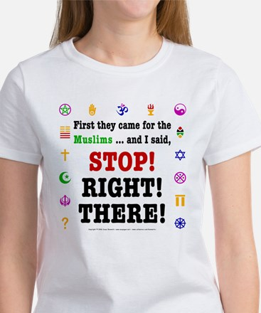 First They Came... Women's T-Shirt