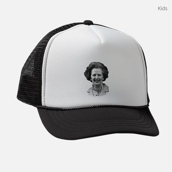 Margaret Thatcher Kids Trucker hat