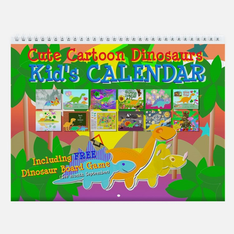 Kids Calendar Design : Childrens calendars calendar designs templates