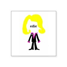 Edie with Pin Sticker