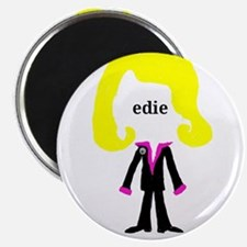 "Edie with Pin 2.25"" Magnet (10 pack)"
