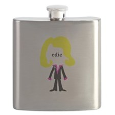 Edie with Pin Flask