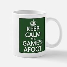 Keep Calm the Game's Afoot Small Mug