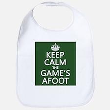 Keep Calm the Game's Afoot Bib