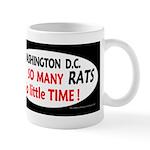 Patriot Cat will clean up Washington DC design Mug