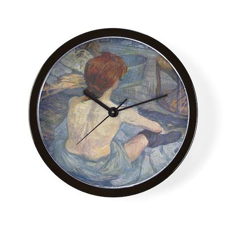 La Toilette Wall Clock