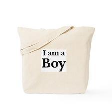 I am a Boy Tote Bag