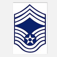 USAFChiefMasterSergeantBo Postcards (Package of 8)