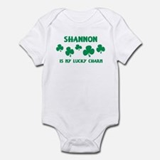 Shannon is my lucky charm Infant Bodysuit