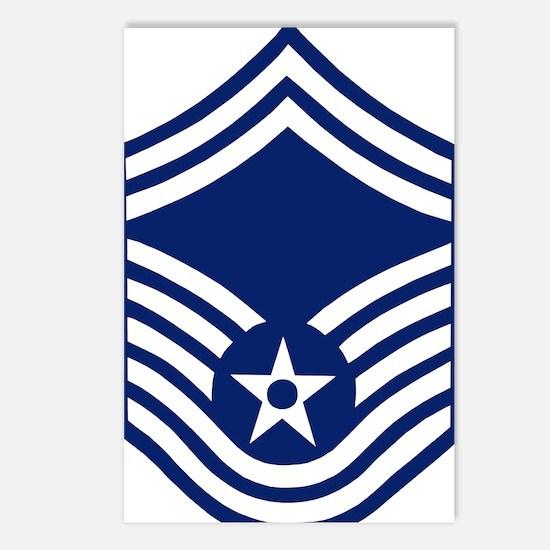 USAFSeniorMasterSergeantF Postcards (Package of 8)