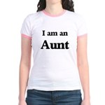 I am an Aunt Jr. Ringer T-Shirt