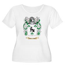 Killian Coat of Arms (Family Crest) Plus Size T-Sh
