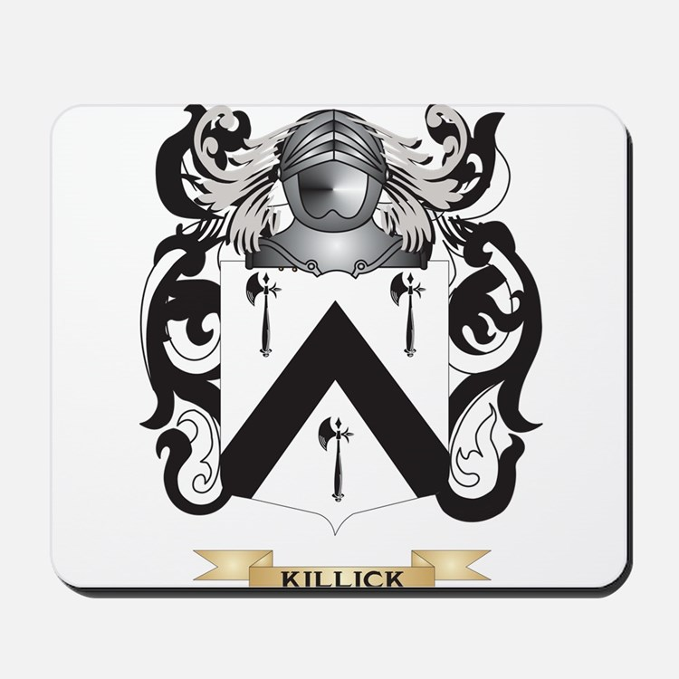 Killick Coat of Arms (Family Crest) Mousepad