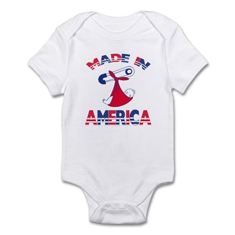 Made n America Infant Bodysuit