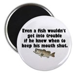 Dumb Fish Magnet