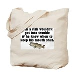 Dumb Fish Tote Bag