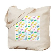 Cute Dinosaurs Pattern Tote Bag