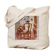 The Dog Was Laughing, Old Mother Hubbard Tote Bag