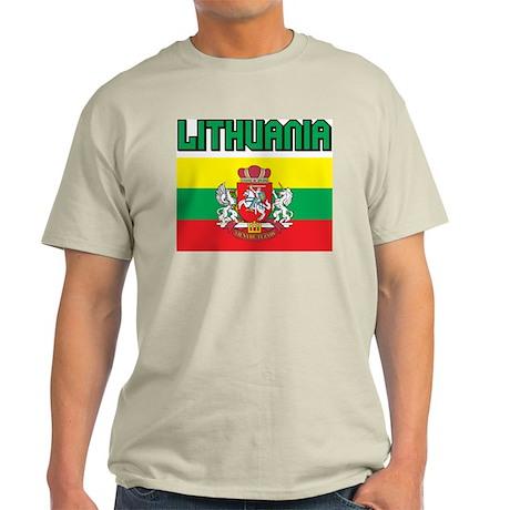 Lithuania Ash Grey T-Shirt