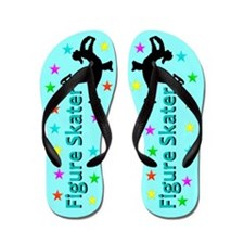 FIERCE ICE SKATER Flip Flops