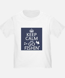Keep Calm and Go Fishin' T-Shirt