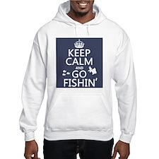 Keep Calm and Go Fishin' Jumper Hoody