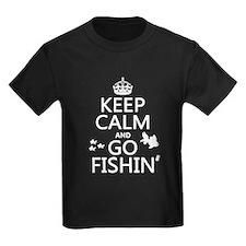 Keep Calm and Go Fishin' T-Shirt