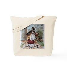 Old Mother Hubbards Dog Tote Bag