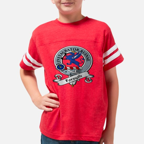 Forsyth Clan Youth Football Shirt