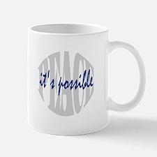 PEACE is possible Mug
