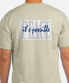 PEACE is possible Ash Grey T-Shirt