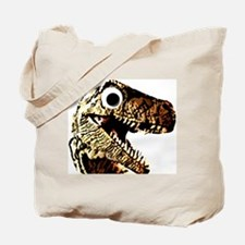 Google eye dinosaur Tote Bag