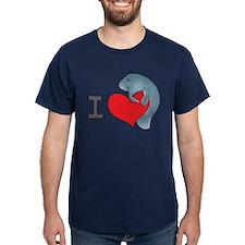 I heart manatees T-Shirt