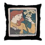 Salon des Cent 1 Throw Pillow