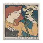 Salon des Cent 1 Tile Coaster