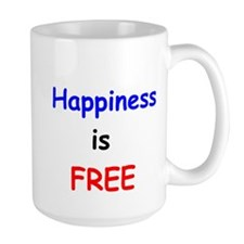 Happiness is Free Mug
