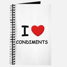 I love condiments Journal
