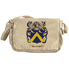 Kingsbury Coat of Arms (Family Crest) Messenger Ba