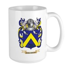 Kingsbury Coat of Arms (Family Crest) Mug