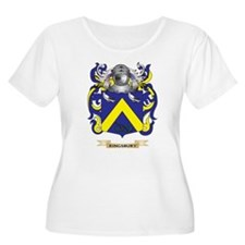 Kingsbury Coat of Arms (Family Crest) Plus Size T-